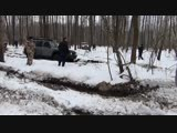 OFFROAD IN THE FOREST Dodge RAM PATROL UAZ GAZ-66 Great Wall Safe Land Rover Discovery NIVA