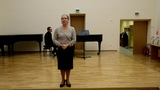 Фрагменты зачета по сценической речи, посвященного композитору Сергею Прокофьеву