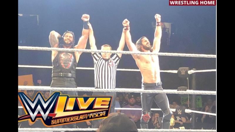 Хаус-шоу RAW в Бисмарке, Северная Дакота (01.07.18)