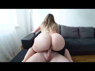 A young girl with a big ass fucks after a shower - big ass butts booty tits boobs bbw pawg curvy mature milf
