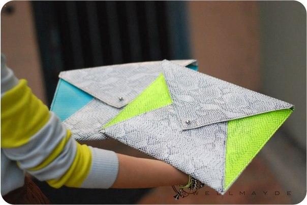Клатч конверт своими руками фото