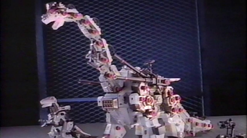 Techno Zoids toy commercial (1994)