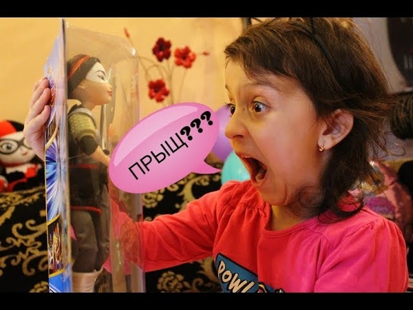 ПРЫЩАВАЯ КУКЛА ЯПОНКА? ОБЗОР КУКЛЫ DC Superhero Girls Katana/Катана Школа Супергероев