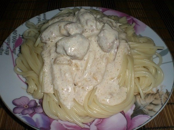 Подлив к спагетти рецепт с фото в