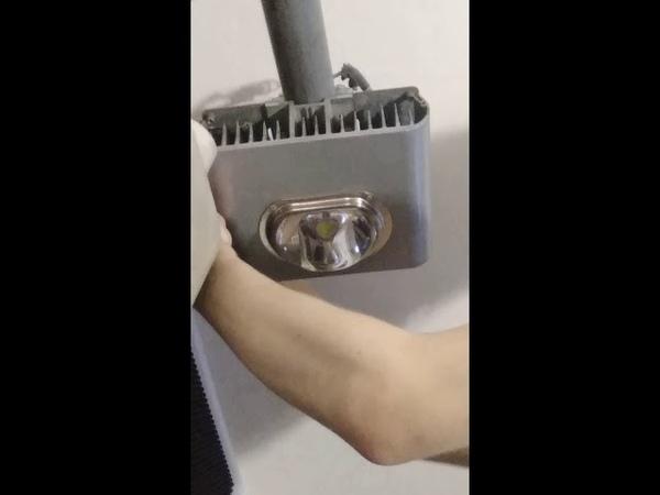 Монтаж светодиодного светильника револайт