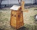 Декоративная мельница своими руками фото чертежи
