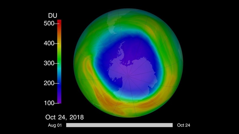 2018 Ozone Hole Is a Reminder of What Almost Was