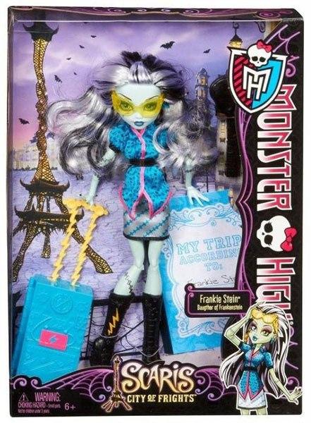 набор из 4 кукол монстр хай
