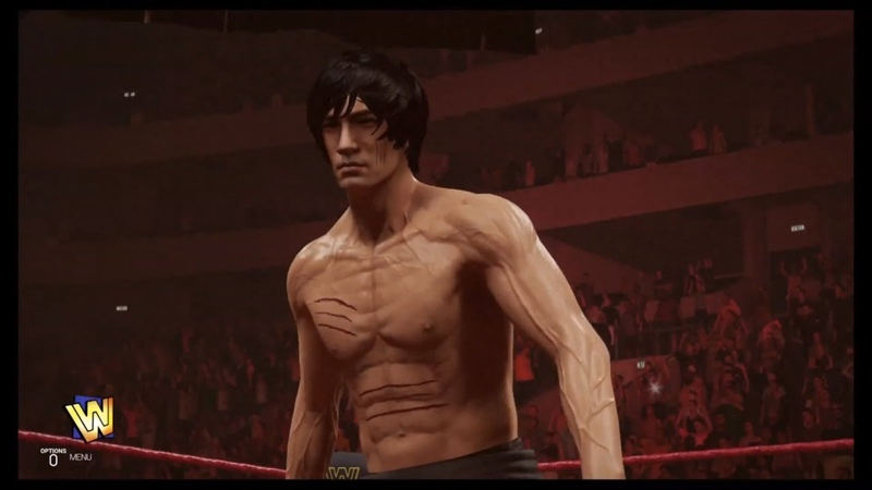 Bruce Lee vs Bray Wyatt WWE 2k19 CPU vs CPU