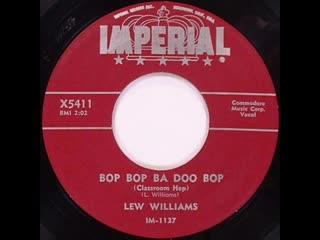 Lew Williams - Bop Bop Ba Doo Bop