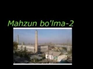 Mahzun bo'lma-2. Rasmdagi Abdulloh domla masjidi_144p.3gp