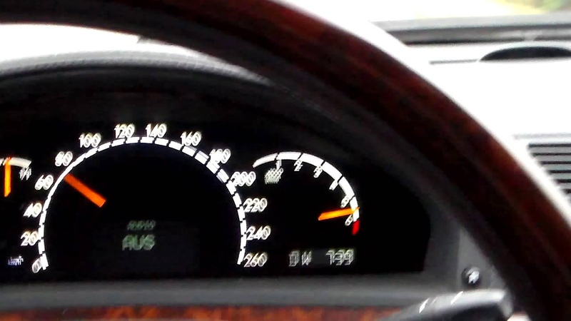 Mercedes Benz W220 - S 600 L - V12 - 0-100 kmh