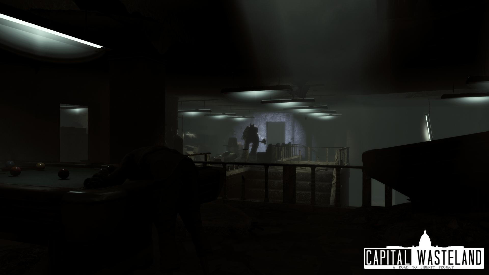Февральский отчет о работе над Fallout 4 The Capital Wasteland (Fallout 3 на движке 4 части)