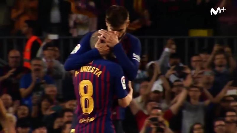 Прощание Иньесты с Барселоной(21_05_2018)_ Gracias por todo, Iniesta