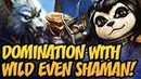 Domination With Wild Even Shaman! | The Boomsday Project | Hearthstone