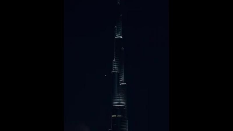 Супер Луна над Дубаем 💛