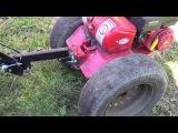 Установка колес от Жигулей на мотоблок салют 100 без доп затрат