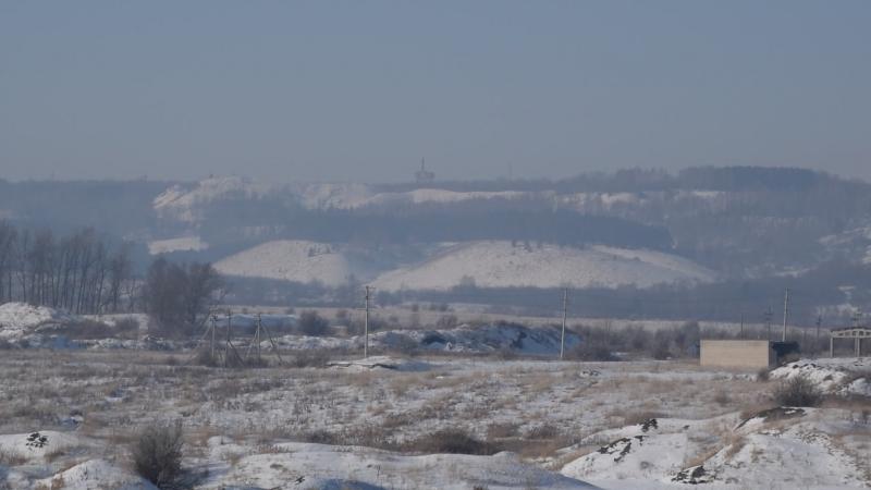 Круговая панорама котловины г.Новоульяновск