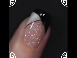 Дизайн ногтей акриловой пудрой