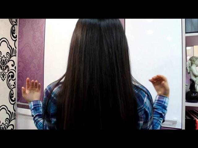 Эффект от ламинирования волос! Фирма Estel