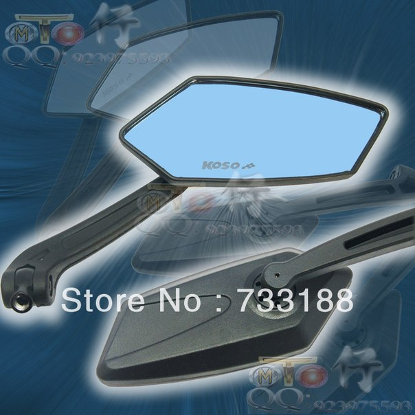 Купить универсальные зеркала для мотоцикла, Universal-Rear-Mirror-MOTORCYCLE-Scooter-8mm-10mm-For-HONDA-YAMAHA-SUZUKI-jawa-zerkala-