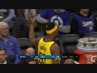 Myles turner shows some love for the philly faithful