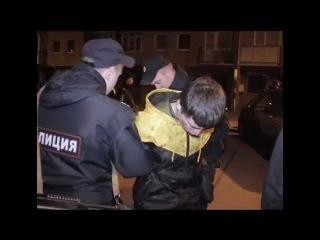 В Калининграде наряд вневедомственной охраны задержал подозреваемых в краже из продуктового магазина