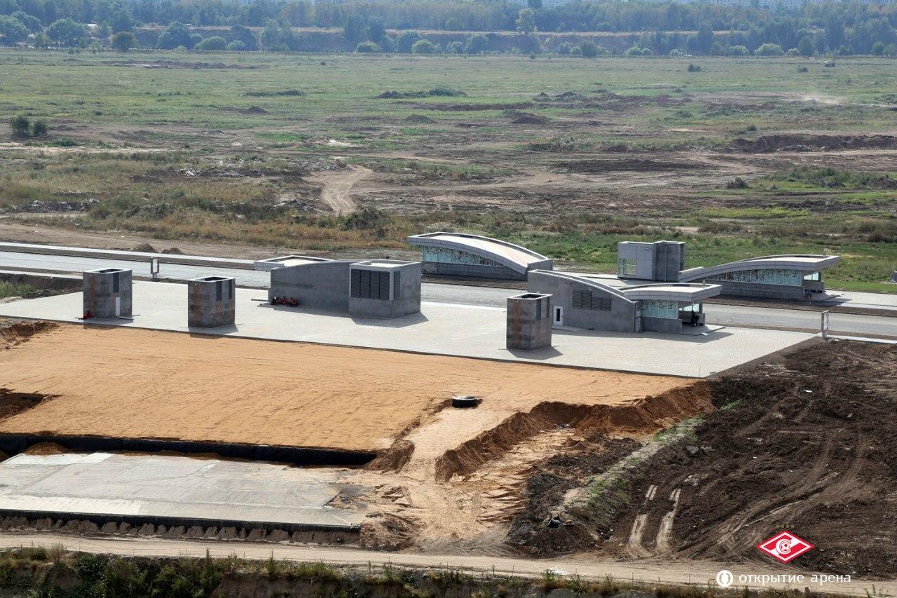На строительстве спартаковского стадиона «Открытие Арена». Большой фотоотчет за неделю. 4 августа - 10 августа 2014 года