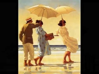 Jack Vettriano Scottish painter for Adult    Begin The Beguine Music