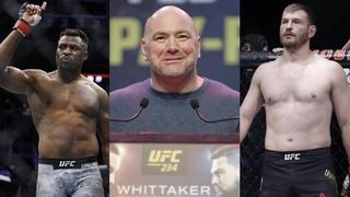 Зарплаты UFC on ESPN 1, Дана Уайт о бое МакГрегор vs. Серроне, Миочич предложил Корьме дату реванша