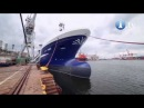 Częściowo wyposażony kadłub statku rybackiego Torbas opuścił Stocznię Nauta w Gdyni