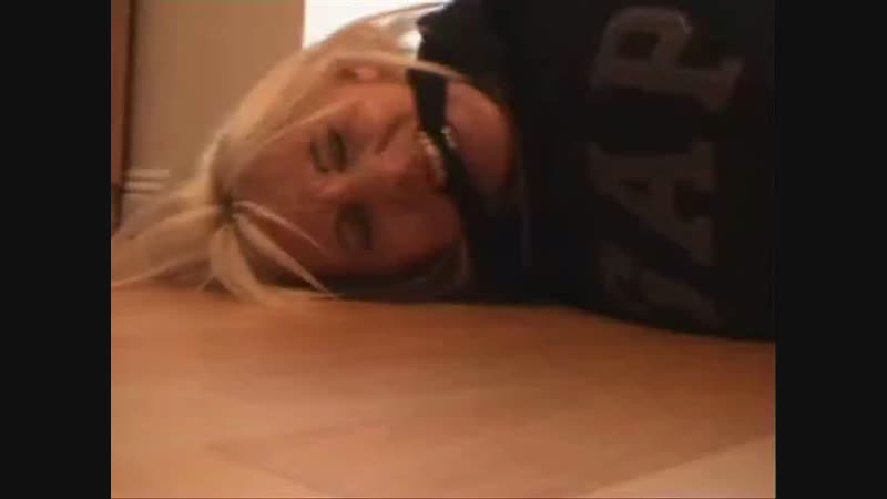 Cleave gagged and struggling