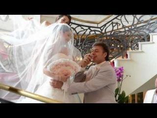 Любовь Тихомирова и Ласло Долински - свадьба в Москве