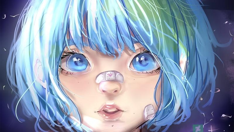Earth-chan [SAI - Speedpaint]