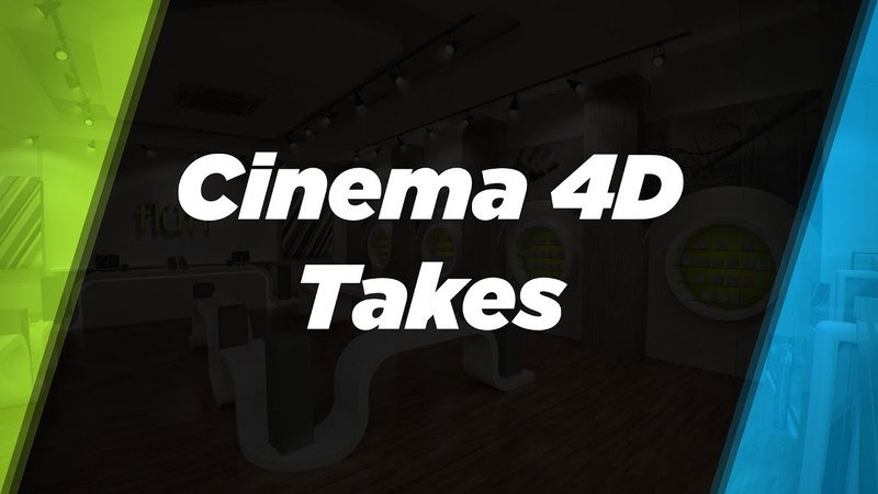 The Take System in Cinema 4D R19