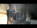 Во время пожара на Кировградской прорвало стояк и затопило несколько квартир