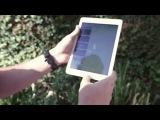 iPad Air 2 расстрел из страйкбольного и огнестрельного оружия