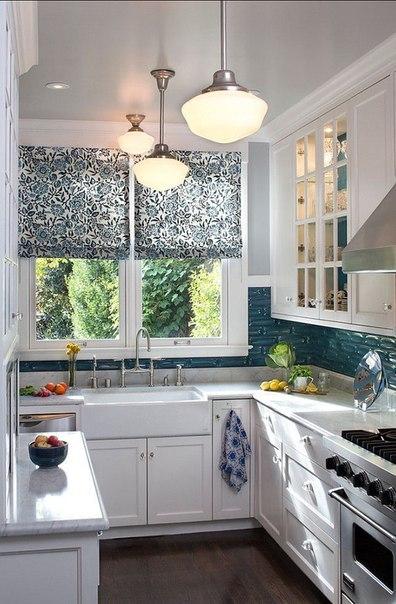 Крутые варианты для маленьких кухонь