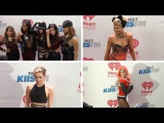 Miley Cyrus, Fifth Harmony, Austin Mahone, Becky G, Travie McCoy 2013 KIIS FM's Jingle Ball