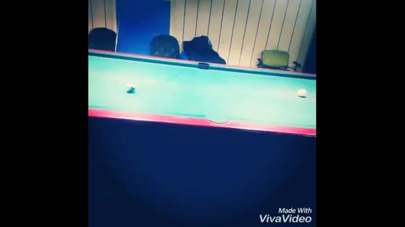 Clasical shots of billiard