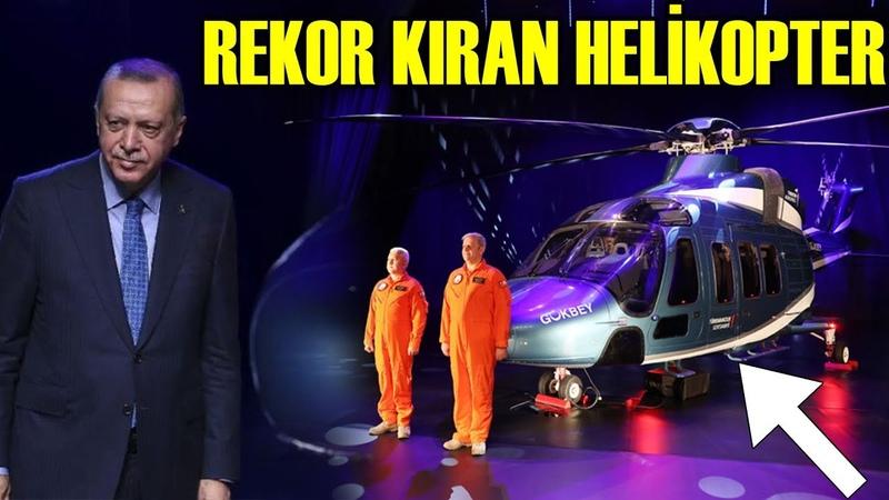 Erdoğan, Şipariş Rekoru Kıracak Yerli Helikopteri Tanıttı (GÖKBEY)