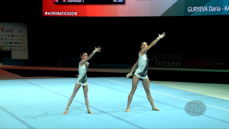 Russian Federation (RUS) - 2018 Acrobatic Worlds, Antwerpen (BEL) - Combined Women's Pair