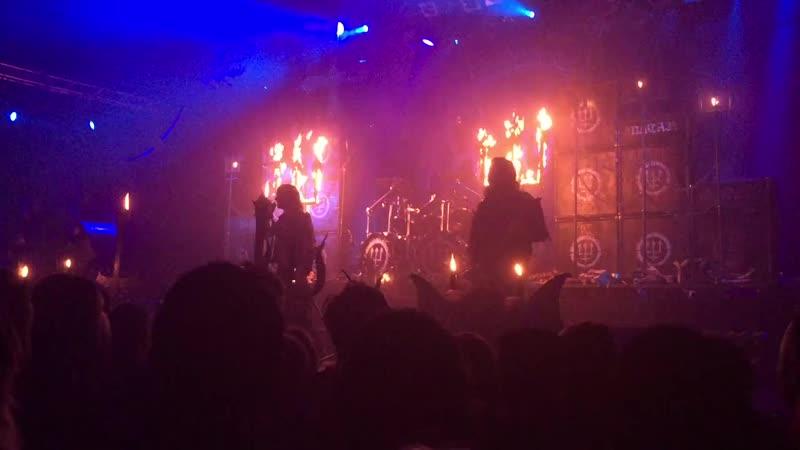 Watain - Sacred Damnation (Live in Warsaw, 04.11.2018)