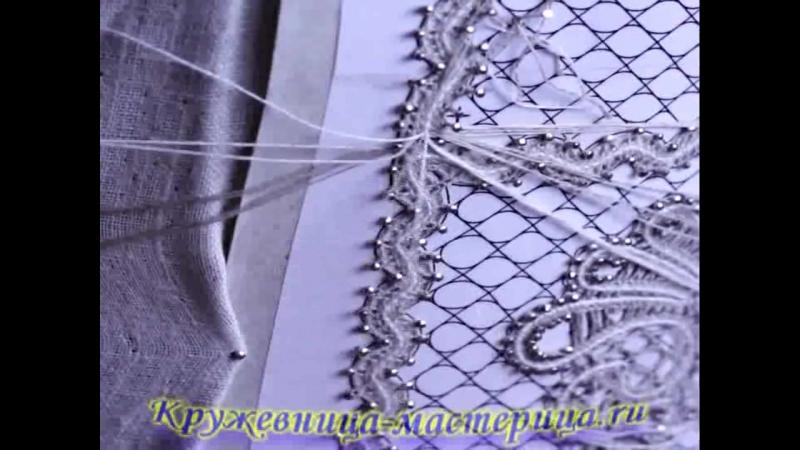 Зашивка в обрывающейся полотнянке