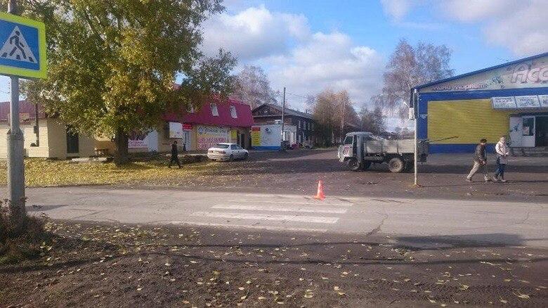Женщина на Mazda сбила мальчика на переходе в Колпашево