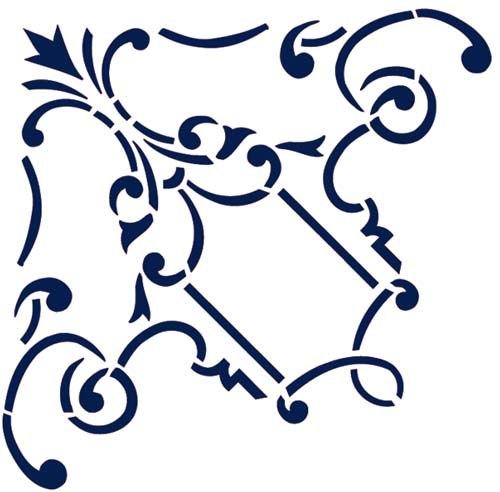 Шаблоны (трафареты) для росписи, дизайна