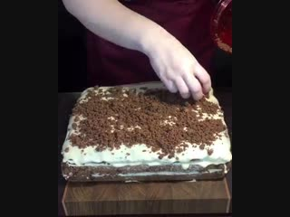 Выпечка-Шоколадный торт