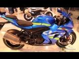 2018 Suzuki GSX R1000 ABS - Walkaround - 2017 EICMA Milan Motorcycle Exhibition