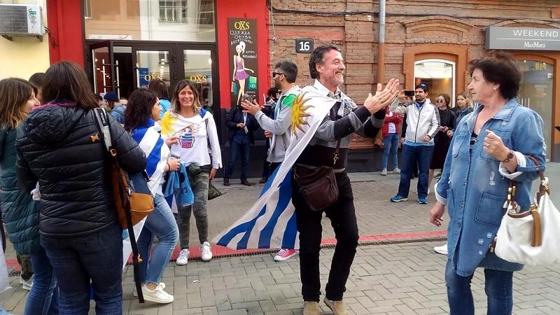 @zabivaka_ekb и болельщики сб.Уругвая