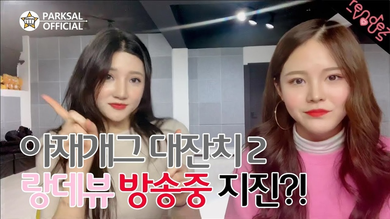 V LIVE 편집영상 _ 아재개그 2탄 랑데뷰(수리,슬기)